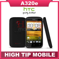 Original unlocked A320e HTC Desire C mobile phone Android GPS WIFI 3.5''TouchScreen 5MP Singapore post freeshipping