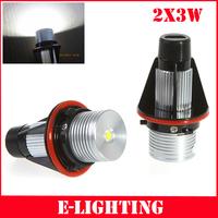 5sets/lot 3W Cree LED Marker Angel Eyes for BMW E39 E60 E61 E63 E64 E65 E66 X3 X5