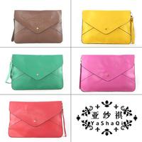 Women's handbag all-match knitted handbag strap decoration women's bag PU bags messenger bag