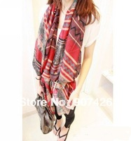 Free shipping wholesale Extra large Printed scarf / shawl 28pcs/lot