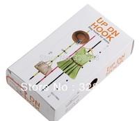 free shipping 240pcs/lot Adjustable UpDn Hooks Multi-purpose Bag Hooks For Door Home Organization Free Shipping