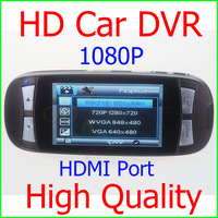 High Quality Car DVR Recorder Full HD 1920*1080P 30FPS Advanced WDR 140 Degree Wide Angle  2.7''LCD Car Camera Free Shipping!