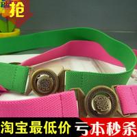 Fashion yd435 women's cummerbund waist elastic belt cronyism thin belt decoration belt one-piece dress