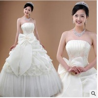 Bride top sexy sweet wedding dresses free shipping