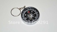 Free shipping!! wholesale  DIY Take the compass compass direction indicator key clasp