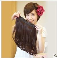 Scroll fluffy girls wig piece a style