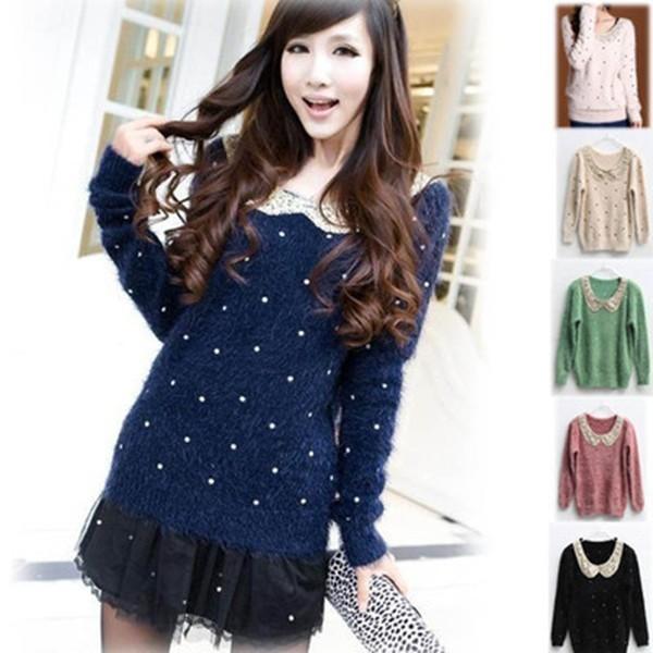 Женский пуловер GWF-6443
