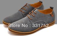 2013 new fashion Men's Flats Shoes Big Size men's leather shoes European style plug size men's shoes winter + free shippping