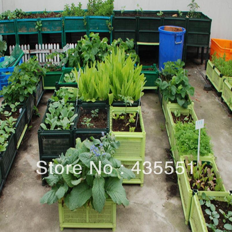Aliexpress popular planter ideas in home garden for Garden flower pot designs