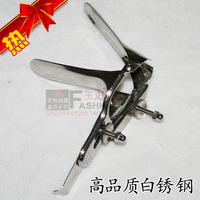 Sex products stainless steel aeterna genitals vaginal dilator vaginal speculum mirror