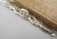L260mm Free shipping zinc alloy Cupboard Drawer handle cabinet  cupboard handles