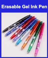 10pcs/lot Free shipping 100% Original PILOT 0.5 erasable pen/Gel ink pen, many color choose