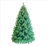 Free shipping High quality  beautiful Christmas tree branches and leaves of green pine needle tree 1.2m Christmas tree