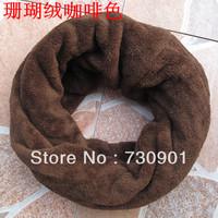 FREE SHIPING Coral fleece winter male muffler scarf boys pullover neckerchief G-116