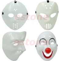 Free Shipping Cool Friday 13Th Half Face Mask For Fancy Dress Costume Party Halloween Carnival 4 styles