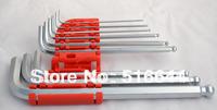 Lengthened Quality Chrome Vanadium Steel Hex Socket Torx Spanner Wrench Free Shipping 1.5mm 2mm 2.5mm 3mm 4mm 5mm 6mm 8mm 10mm