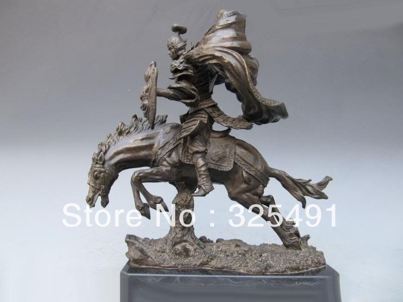 ZhaoYun warrior Statue...