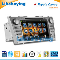 8 Inch Car DVD Player GPS Navigation Radio Stereo Navigation for Toyota Camry 2007 2008 2009 2010 2011 with FREE 8G Map SD Card