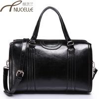 2013 women's handbag one shoulder handbag BOSS women's handbag candy color bucket bag handbag leather bag