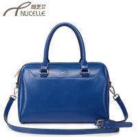 2013 women's handbag women's cowhide embroider portable BOSS bag messenger bag