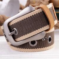 Unrui pin buckle canvas belt male canvas strap male casual belt male canvas belt