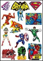 Cartoons super man comic cartoon stickers personality waterproof stiker