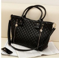 Free shipping 2013 Autumn HOT SALE Classcial Style Elegant ,Plaid VIVI Handbag,Single-shoulder Bag for Women
