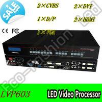 Free Shipping! LVP603 HD Digital Video Processor, HDMI/SDI, LED Display Screen System Video Processor
