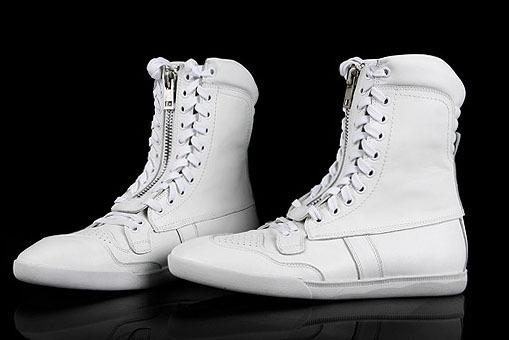 Mens White Boots - Boot Hto