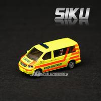 Free shipping Boxed siku t5 microbiotic vw ambulance alloy car model toy car