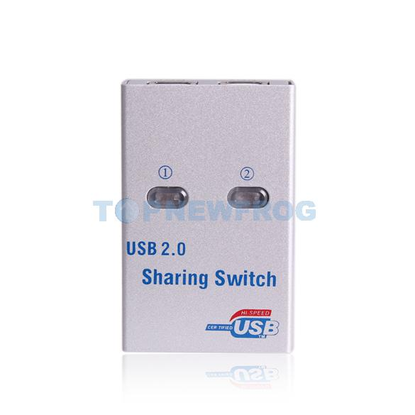 T2N2 Sharing Switch 2 Port for PC Printer Sharing Device Mini USB 1.1/2.0(China (Mainland))