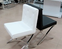 Modern PU leather dining chair