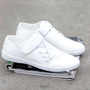 Кроссовки мужчины квартиры свободного покроя обувь белый скейтбординг обувь