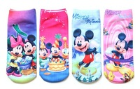FREE SHIPPING New full board Print Kids Socks  #8817