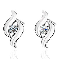 Classic Fashion Design silver new style earrings
