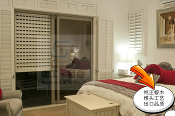 Wardrobe shutter door solid wood window shutters doors french style wooden shutters louver window