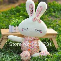 1PCS Resale and Wholesale Large Plush Toys Cute 60CM Soft Rabbit Toys Pretection Stuffed Doll Rabbit  Good Gift For Grils