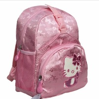 Free Drop shipping 2014 Baby Girls Pink Primary school  bags Fashion student backpack schoolbags SB007