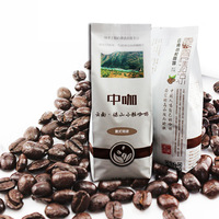 Espresso coffee 454g depth of coffee beans coffee powder