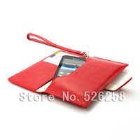 Multi-function korean style Generic Leather purse Case for Sony Xperia TIPO ST21i free Shipping