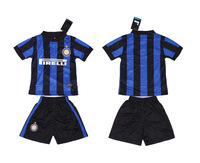 ^_^ Best Quality 2013- 2014   Inter Milan  Home J. Zanetti #4  Sneijder #10  kids / youth  soccer  jersey   soccer uniform kit