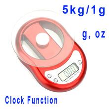 red kitchen clock price