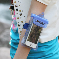 Baihuo baihuo safebet waterproof bag /outdoor beach bag /camera/mobile phone bag in blue colors