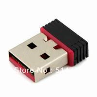 Mini USB Wireless LAN Network Adapter Card 802.11n/b/g,usb wifi adapter card,ethernet adapter,free shipping