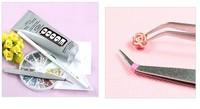 free shipping Bei Jin stainless steel eyebrow tweezers / eyebrow clip / eyebrow folder