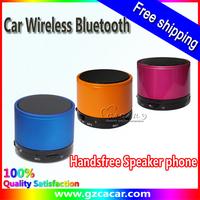 Free Shipping 2013 New Car Wireless Bluetooth,Handsfree Speaker phone Car KitHandsfree Speaker phone Car Kit
