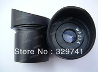 Free Shipping WF20X/10mm Stereo Microscope Wide Angle Eyepiece Optical Lens with Mounting Size 30.5mm