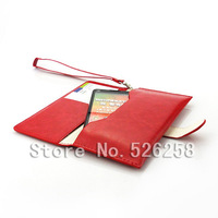 Multi-function korean style Generic Leather purse Case for Motorola XT681 free Shipping