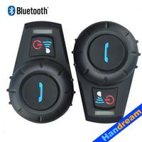 2015 Newest Helmet Intercom, BT Interphone 500M / Bluetooth motorcycle helmet intercom, Factory price!