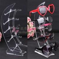 pop up display Sail acrylic glasses eyeglasses frame accessories display rack sunglasses storage rack mount desktop